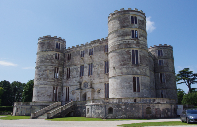 Lulworth Castle, Lulworth, Dorset