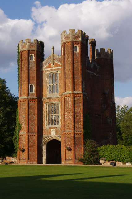 The Great Tower at Leez Priory, Essex