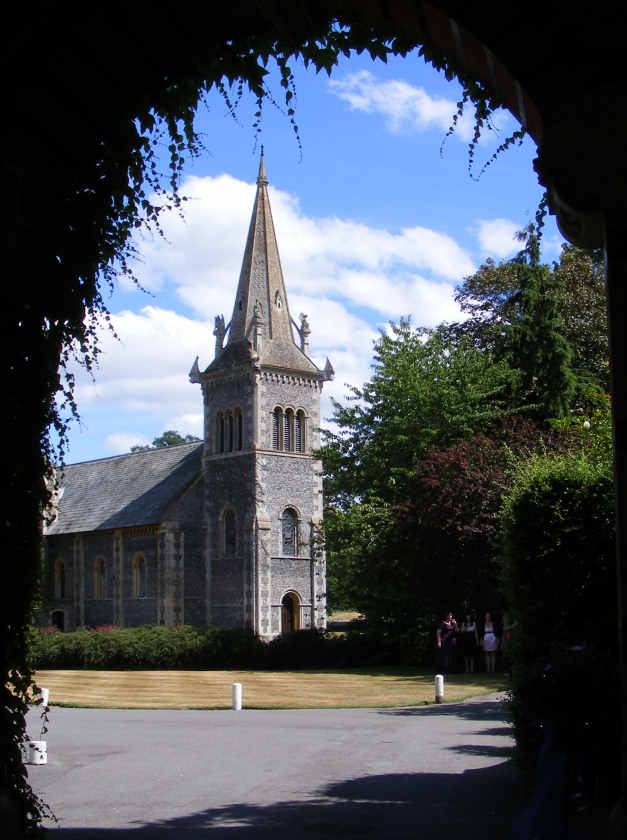 St Marys Church at the Elvetham, Hartley Wintney, Hampshire